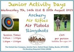 Junior Activity Days - August