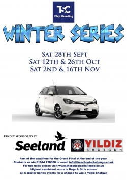 TSC Winter Series - Sep/Oct/Nov
