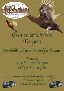 Grouse & Driven targets - all year