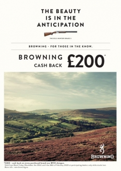 £200 Browning Cash Back!