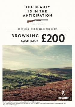 £200 Browning Cash Back!