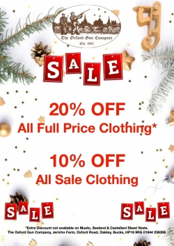 CLOTHING SALE!