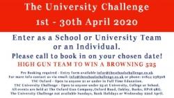 University Challenge 2020 - details