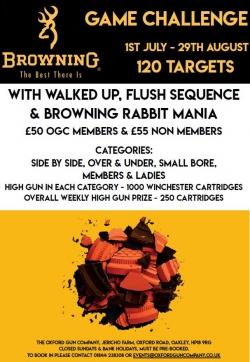 Browning Game Challenge 2020