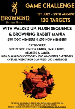 Browning Game Challenge 2020