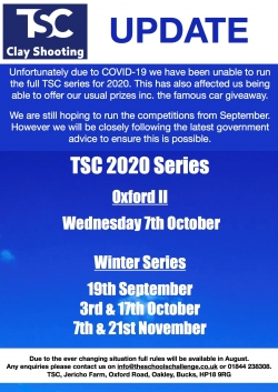 TSC dates for 2020 - Covid19