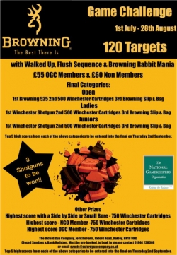 Browning Game Challenge 2021