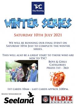 TSC Winter Series - 10th Jul 2021