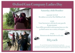 Ladies` Shooting Day 16th Oct